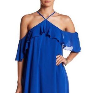 Sequin Hearts Halter Mini Dress